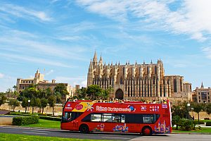 City Sightseeing in Palma de Mallorca - Hop-on / Hop-off bus tour