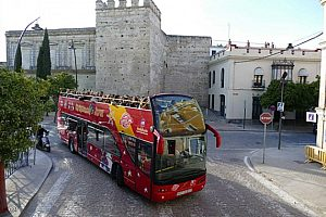 Go by City Sightseeing Bus in Jerez de la Frontera on a Hop On Hop Off tour