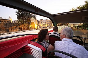 The City Sightseeing Bus Seville: city tour and guided walking tour in Seville