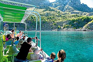 Beautiful coasts, caves and coves boat trip in Mallorca north