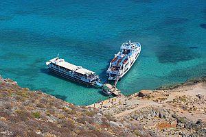 Tagestour von Heraklion zur Balos Lagune und Gramvousa Insel