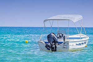Boot ohne Führerschein auf Kreta mieten