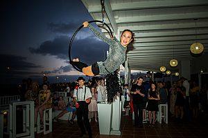 Dinnershow auf Lanzarote mit Akrobatik
