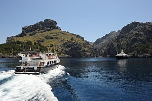Majorca boat trip: by ship from Port de Soller to Sa Calobra