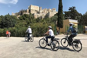 E-Bike Tour Athen Akropolis