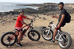 Fat bike tour fuerteventura