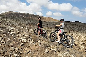 E-Bike-Tour durch die Vulkanlandschaft