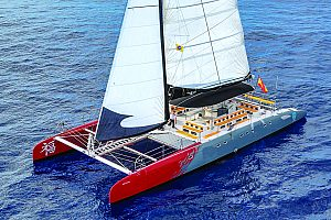 Catamaran tour starting from Costa Adeje in Tenerife
