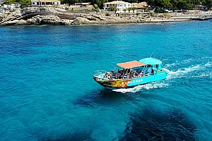 By speedboat to the Dragon Island Majorca - with 2 hours free time on Sa Dragonera