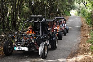 Minorca buggy tour in the wild north of the Balearic Islands