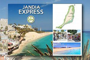 Tagestour ab Corralejo nach Jandia