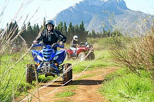 Exciting quad tours in Dénia: ride a quad through the wonderful nature