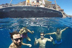 Schwimmen und Tauchen in der Ägäis