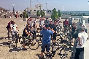 Interesting bike tour through Malaga: City Tour with guide