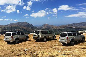 luxuriöse Jeep Tour auf Kreta