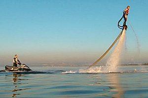 Flyboard probieren auf Menorca