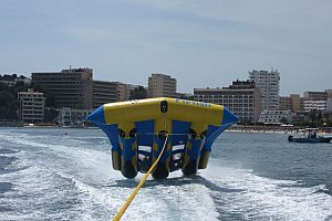 Fun Tubes in Magaluf, Palmanova & Son Matias: Fly fish, Sting Ray, Crazy Ufo, Twister