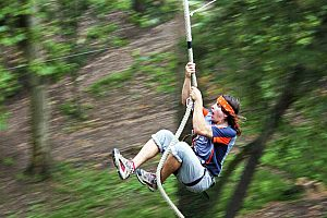 Adventure park in Santander: high ropes in Cantabria