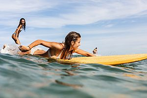 Learn to surf on Mallorca - 2-hour intensive course from Can Pastilla