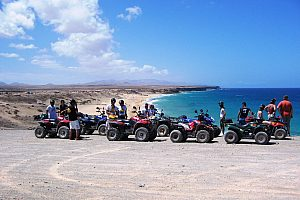 Fuerteventura: quad tours with island-wide starting points