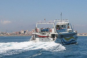 "Catamaran tour ""Borgia"" from Gandia: 1-hour tour near Valencia"