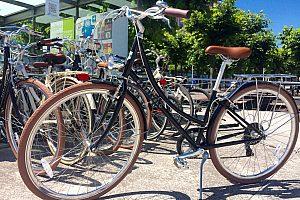 Gijón Fahrrad-Verleih-Station