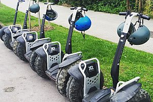 The Gijón Segway rental - ride Segway in Gijón on your own