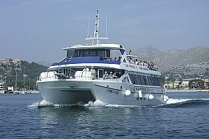 Boat trip from Pollensa to Cala Sant Vicenç with stop at the beach of Formentor