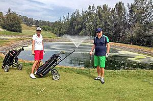 Golf lessons at 3 different spots on the island