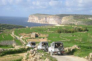 Mit dem Jeep durch Gozo