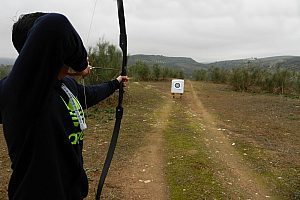 The leisure sport in Andalusia: archery near Malaga / Granada for all age groups