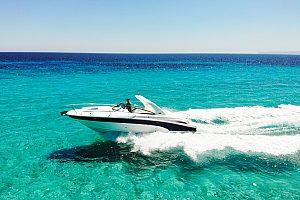 Ibiza Motorboot chartern mit Skipper
