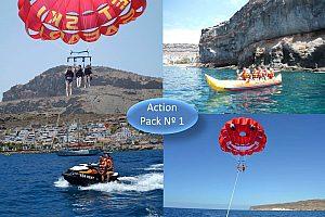 Wassersport Paket Nr. 4 Jetski, Parasailing, Donut, Banana Boot auf Gran Canaria