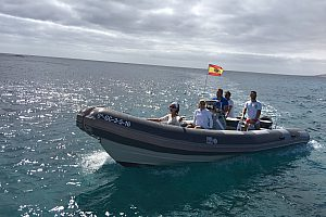 Private speed boat tour in Fuerteventura in the north of the Island