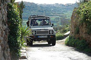 Jeep fahren in Gozo
