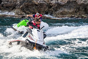 Ride jetski in Alcudia, Majorca (north) or do a jetski safari to Formentor
