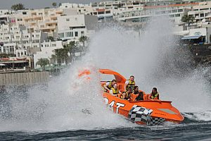 Action-packed Jet Boat ride in Lanzarote in the south