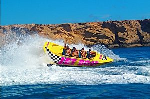 Jetboat trip along the southwest coast next to Santa Ponsa and Paguera