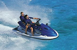 Take a jet ski ride in Menorca, Fornells in the northeast of the island