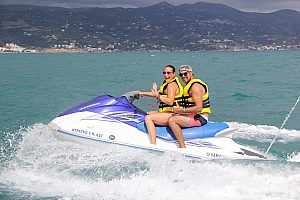 Jet ski hire on Crete at Heraklion: the experience for your adrenaline rush!
