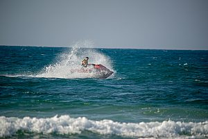 Rent a jet ski in Magaluf in Mallorca and race over the waves