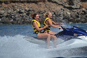 2 Personen auf einem Jetski auf Gran Canaria