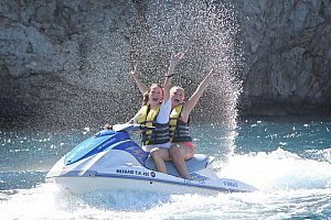Discover Crete by Jet Ski: the special tour near Heraklion