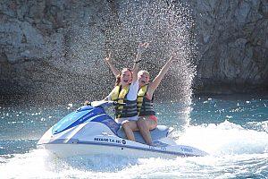 Jet Ski Tour auf Kreta