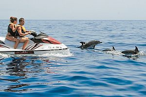 Guided jet ski tour on the south coast of Fuerteventura