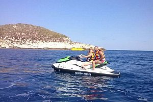 Rent a jetski in Benidorm: jet ski excursions with guide at Costa Blanca