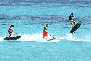 Sprung beim Jetsurfing ab Santa Ponsa