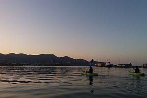 Seekajak Tour auf Kreta