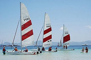 Sailing school: catamaran rental or sailing courses in Alcudia, Majorca