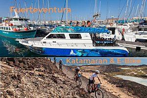 Katamaran & E-Bike Tour auf Fuerteventura